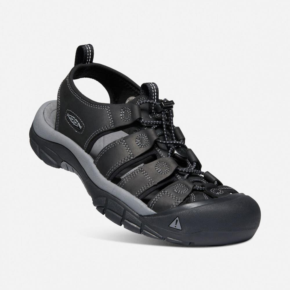 KEEN NEWPORT MEN BLACK/STEEL GREY