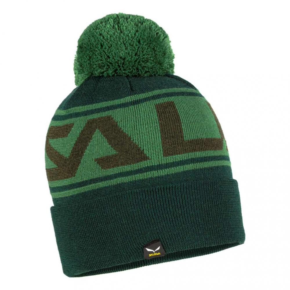 SALEWA ANTELAO POM BEANIE 5320 RAW GREEN