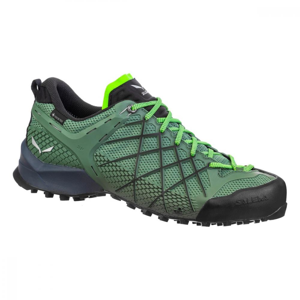 SALEWA MS WILDFIRE  GTX 5949 MYRTLE/FLUO GREEN