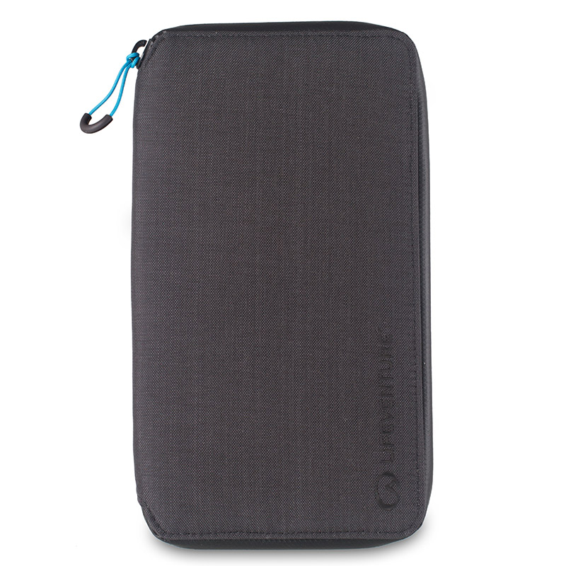 LIFEVENTURE RFID TRAVEL WALLET GREY