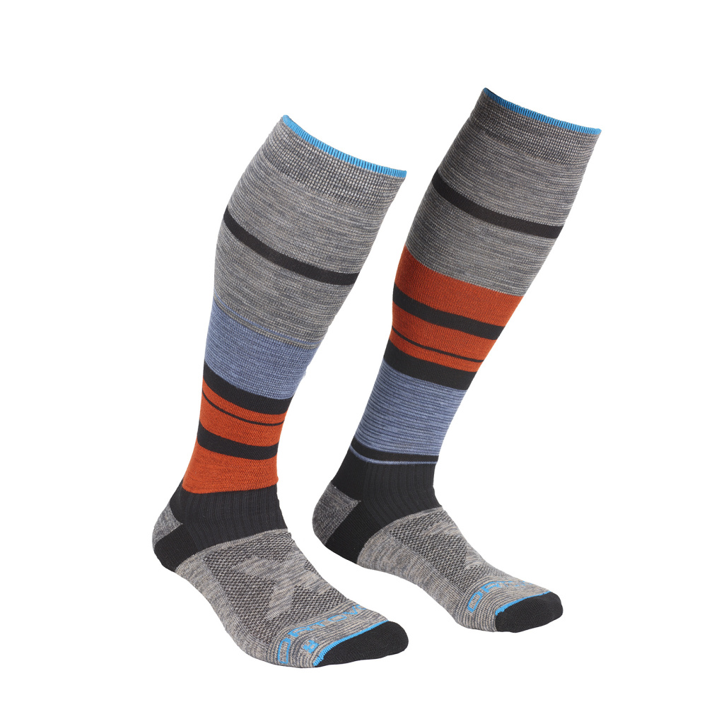ORTOVOX ALL MOUNTAIN LONG SOCKS WARM M MULTICOLOUR