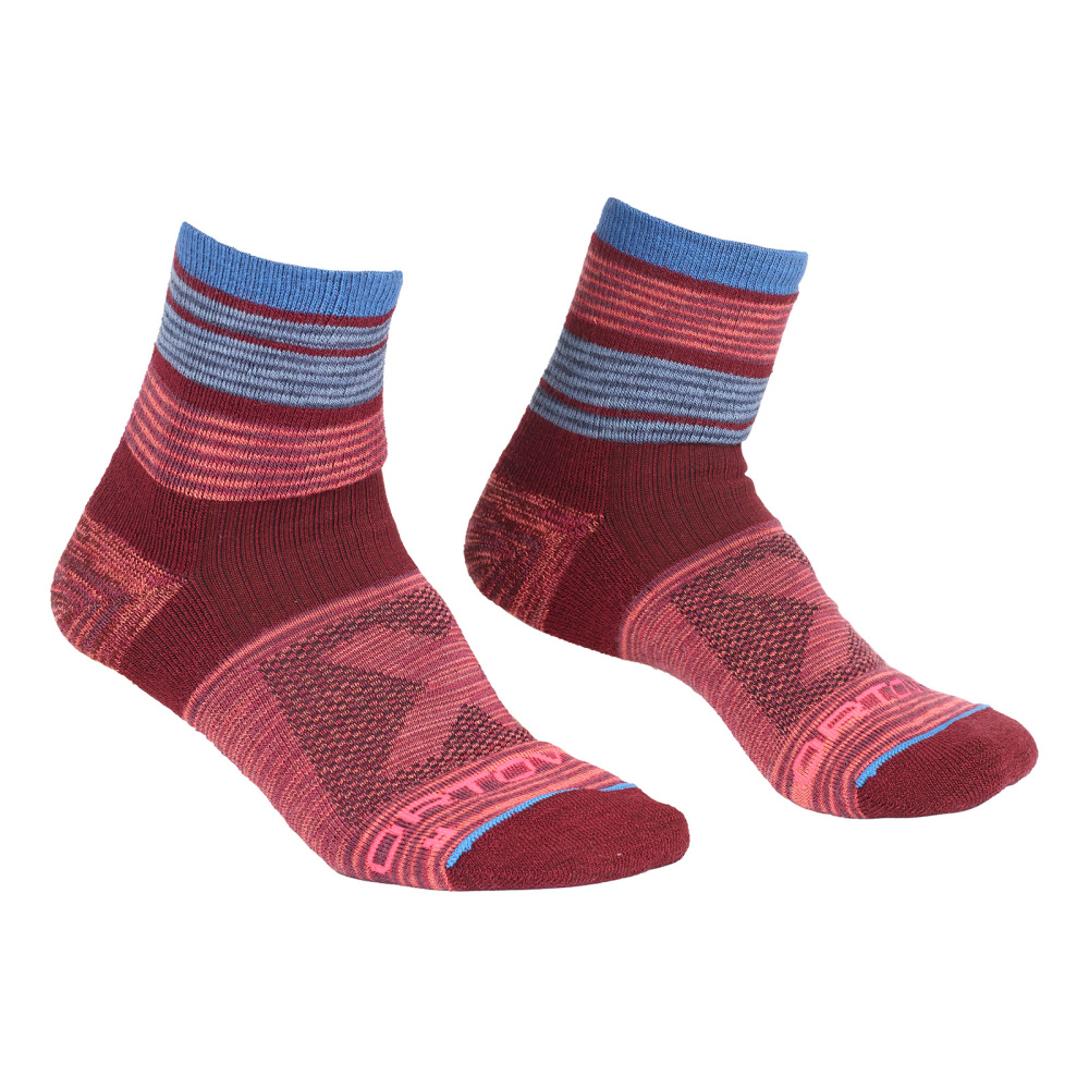 ORTOVOX ALL MOUNTAIN QUARTER SOCKS WARM W MULTICOLOUR