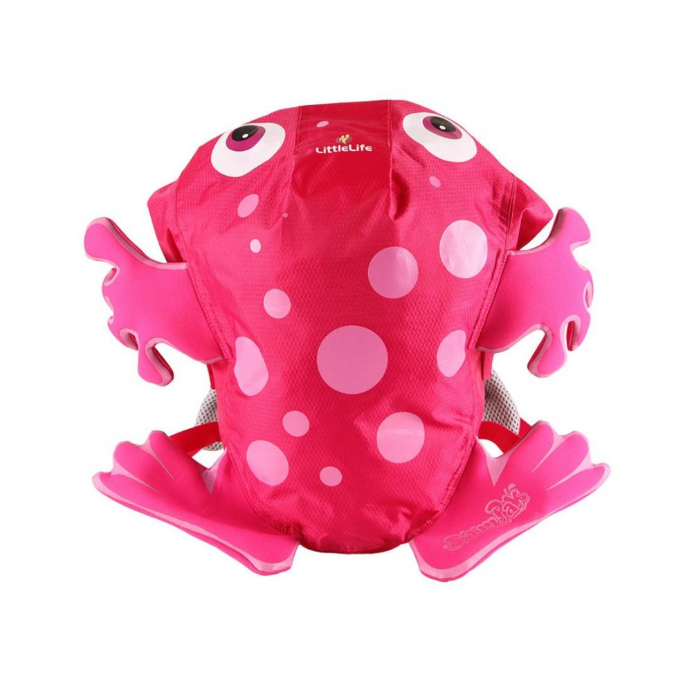 LITTLELIFE ANIMAL KIDS SWIMPAK PINK FROG