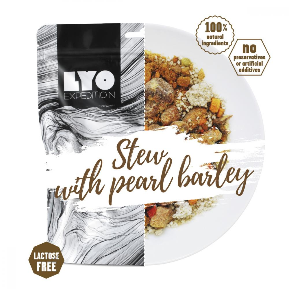 LYOFOOD STEW WITH PEARL BARLEY BIG PACK