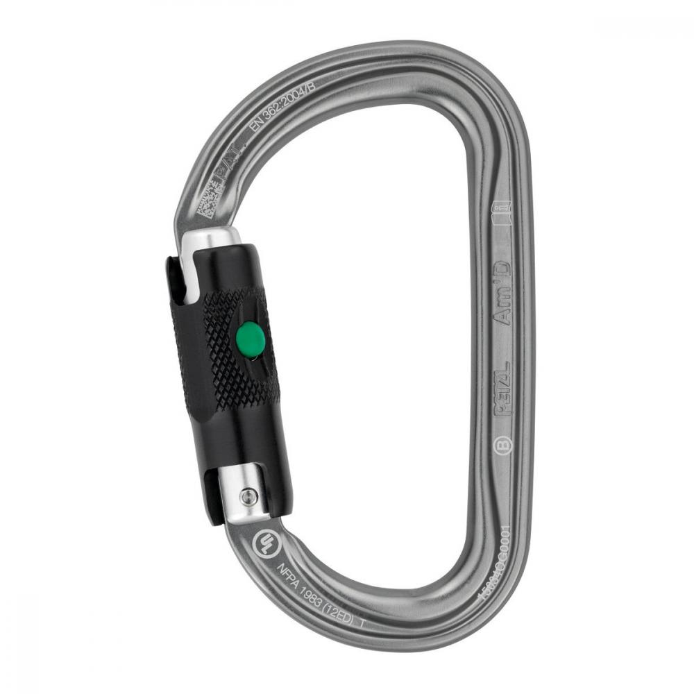 PETZL AM´D BL BALL LOCK/GRAY