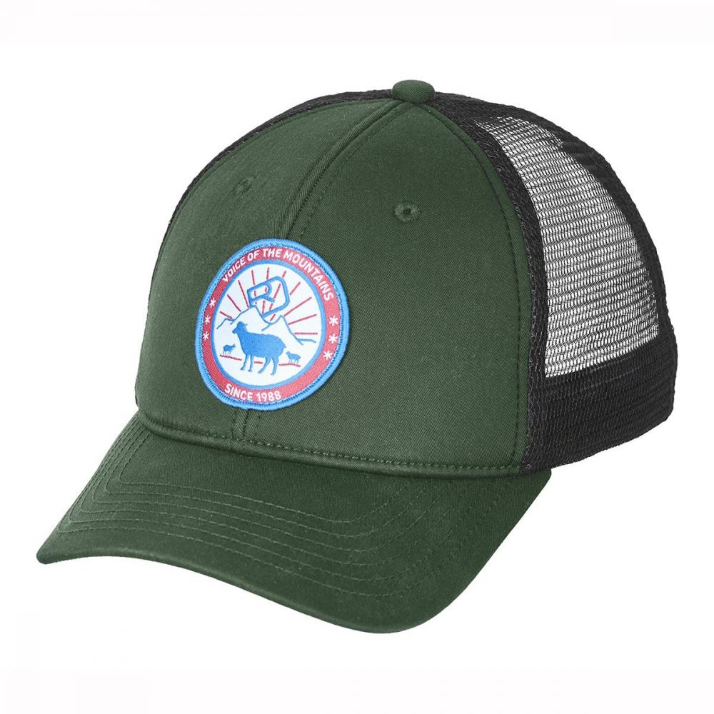 ORTOVOX STAY IN SHEEP TRUCKER CAP GREEN FORREST