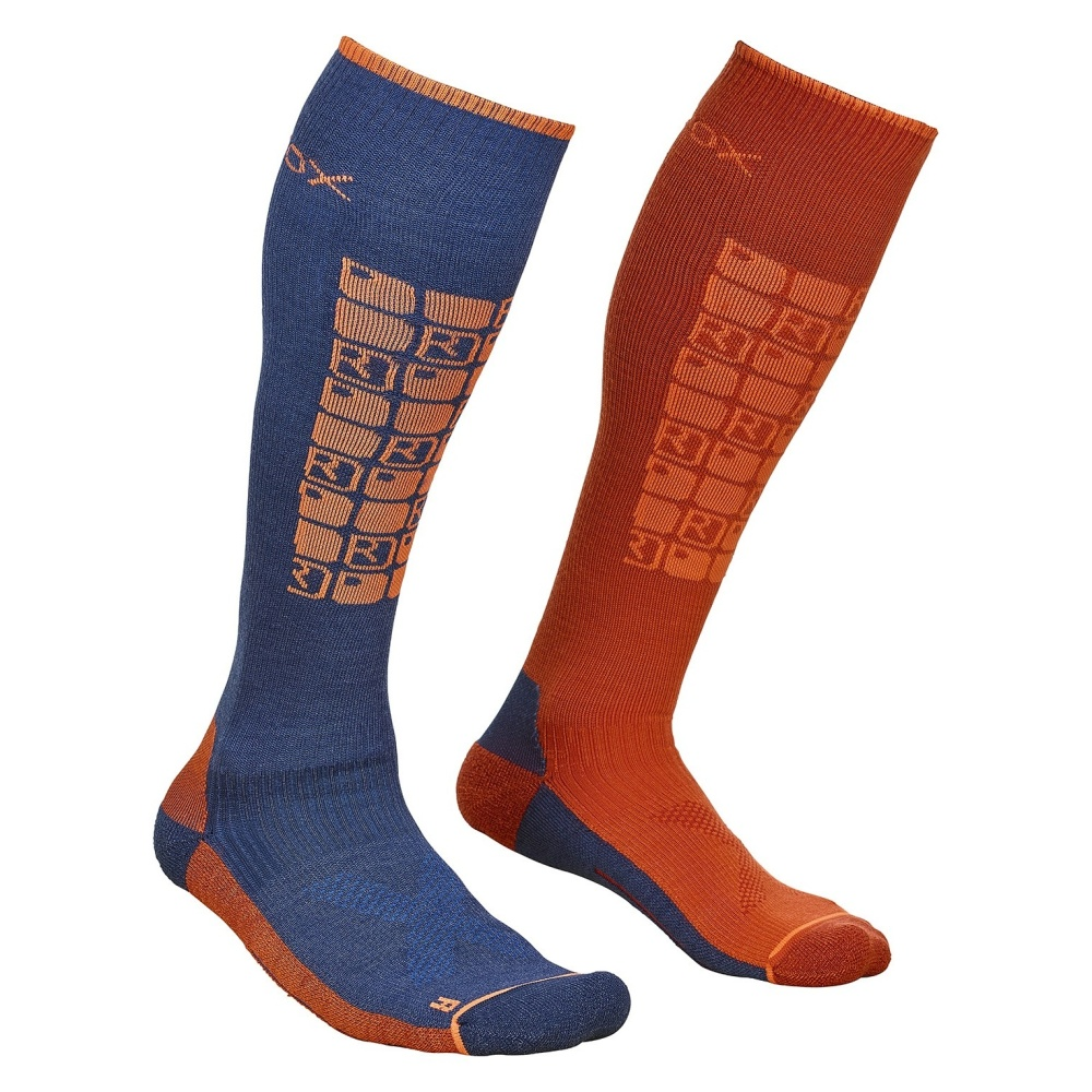 ORTOVOX SKI COMPRESSION SOCKS M NIGHT BLUE