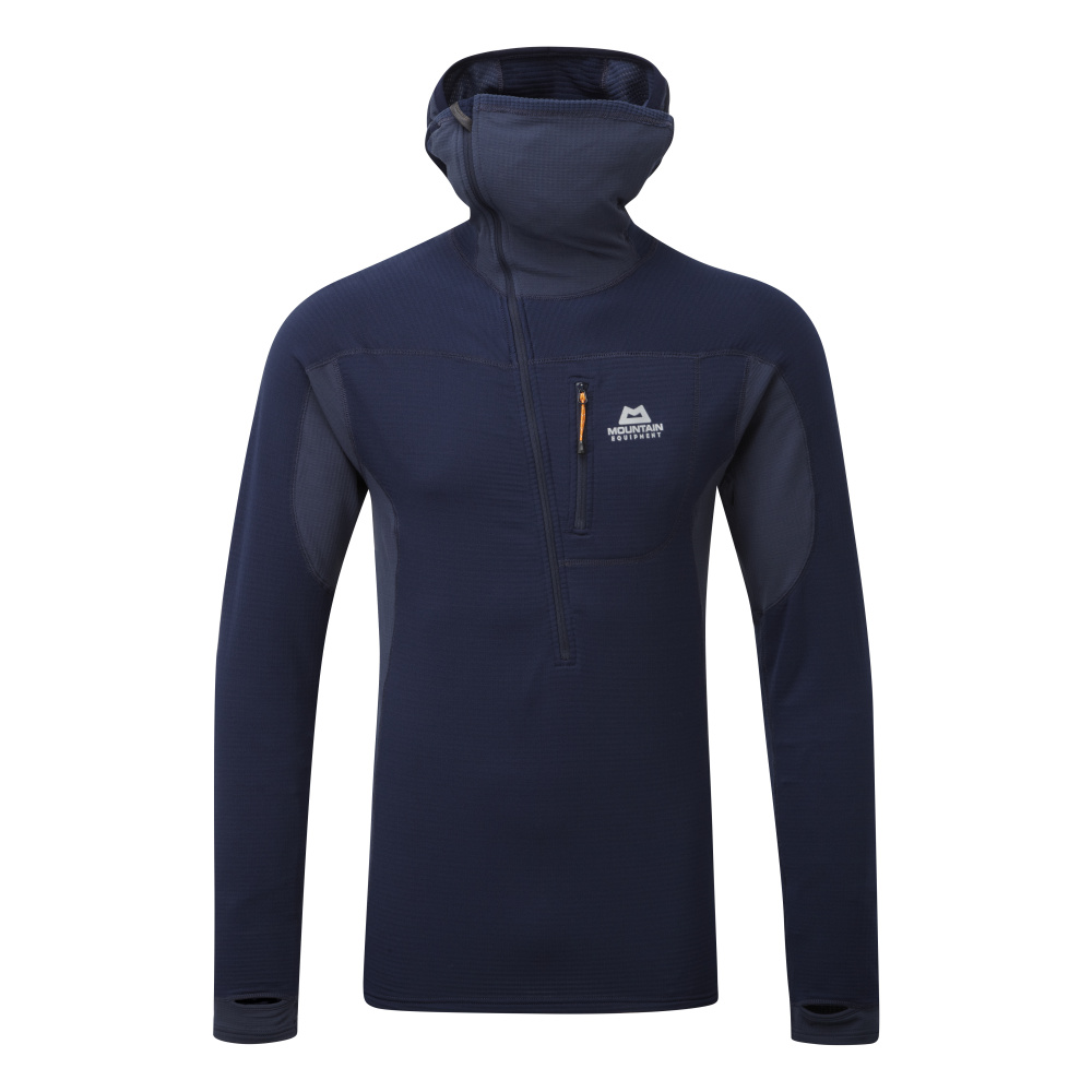 MOUNTAIN EQUIPMENT ECLIPSE HOODED ZIP T ME-01286 COSMOS
