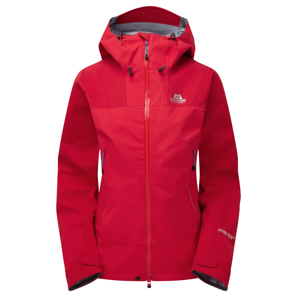 MOUNTAIN EQUIPMENT RUPAL WMNS JACKET ME-01027 IMPERIAL RED/CRIMSON