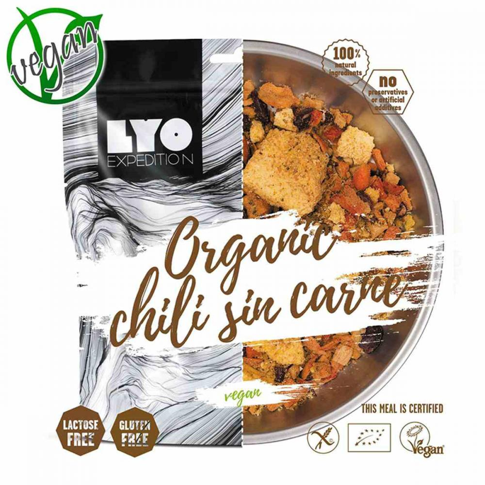 LYOFOOD ORGANIC CHILLI SIN CARNE SMALL PACK
