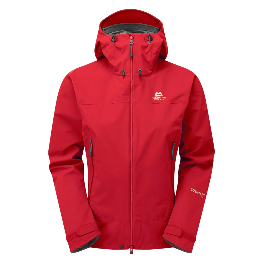 MOUNTAIN EQUIPMENT SHIVLING WMNS JACKET ME-01040 IMPERIAL RED