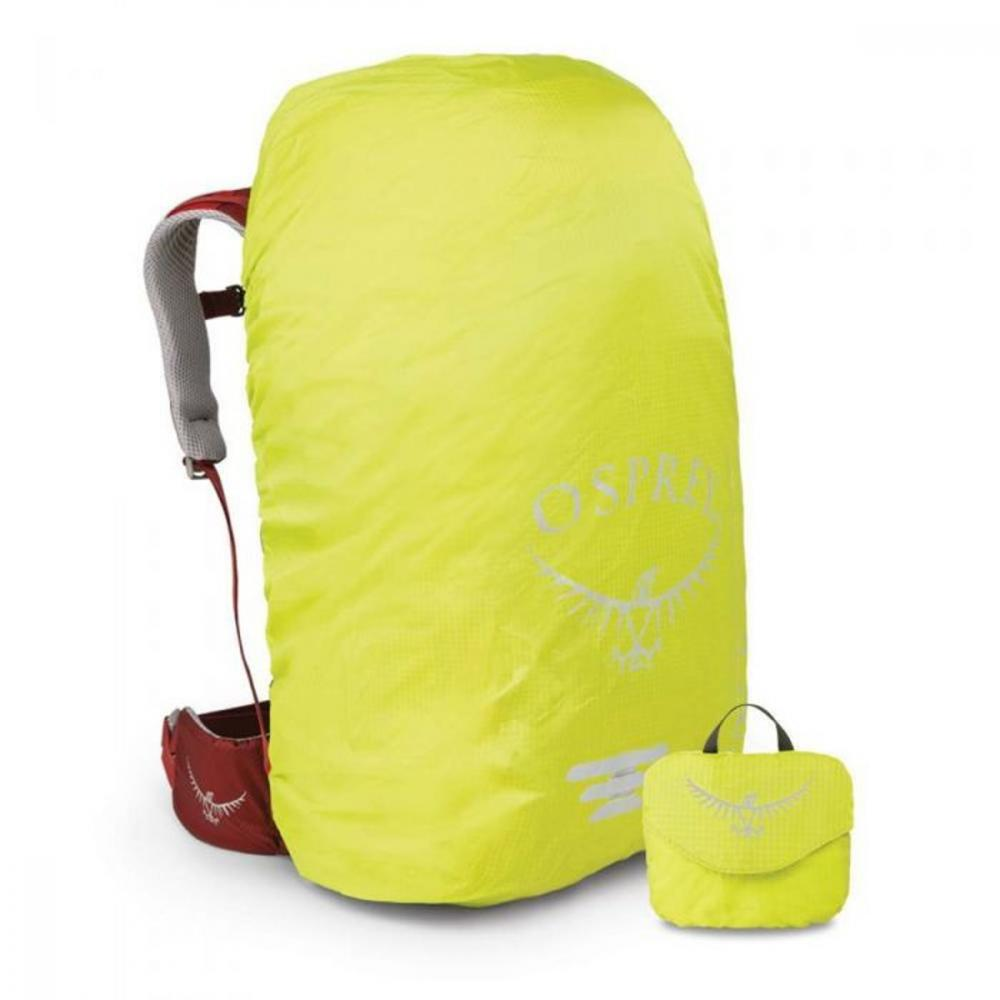 OSPREY ULTRALIGHT HI-VIS RAINCOVER ELECTRIC LIME