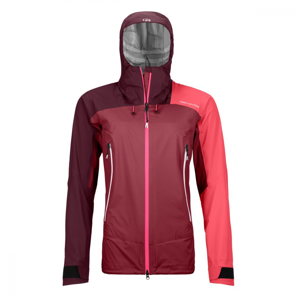 ORTOVOX WESTALPEN 3L LIGHT JACKET W DARK BLOOD