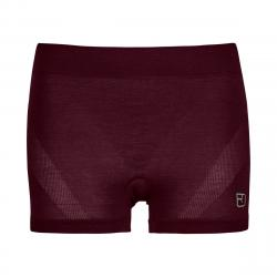 ORTOVOX 120 COMP LIGHT HOT PANTS W DARK WINE