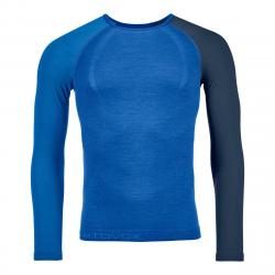 ORTOVOX 120 COMP LIGHT LONG SLEEVE M JUST BLUE