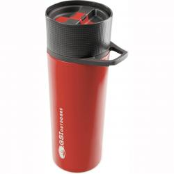 GSI OUTDOORS GLACIER STAINLESS COMMUTER JAVAPRESS RED