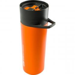 GSI OUTDOORS GLACIER STAINLESS COMMUTER JAVAPRESS ORANGE